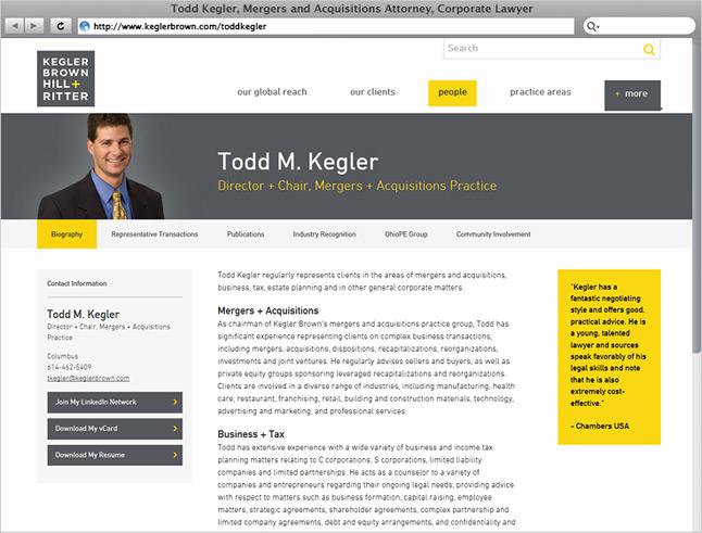 Kegler Brown Award-Winning Law Firm Design — Great Jakes