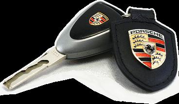 Обикновен ключове Porsche